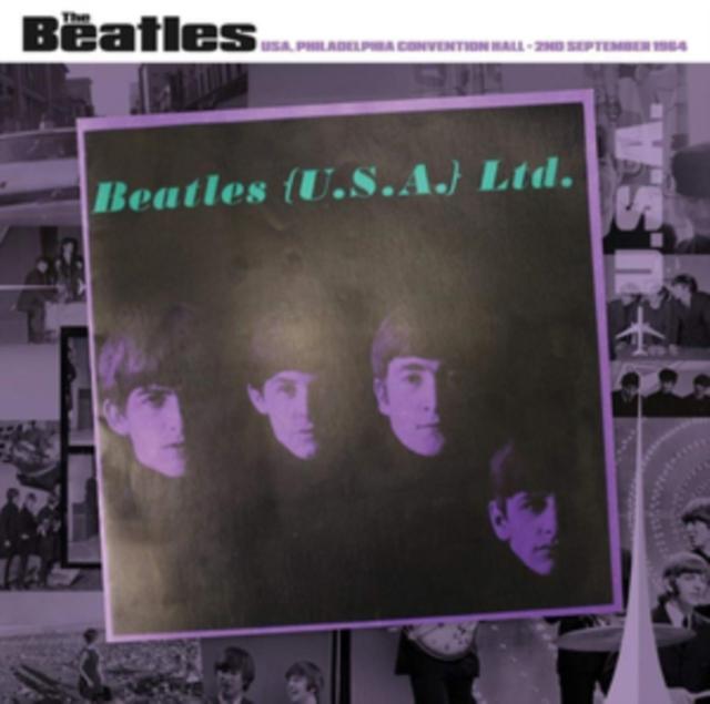 "Philadelphia Convention Hall, 2nd September 1964 (The Beatles) (Vinyl / 12"" Album)"