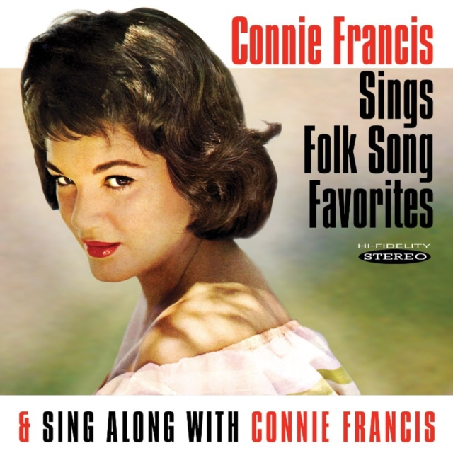 Sings Folk Song Favorites/Sing Along With Connie Francis (Connie Francis) (CD / Album)