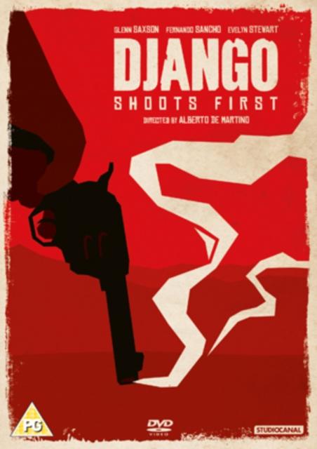 Django Shoots First (Alberto De Martino) (DVD)