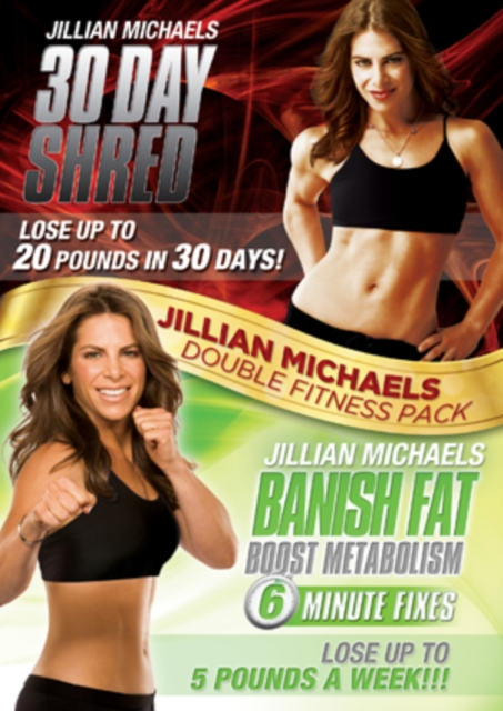 Jillian Michaels: 30 Day Shred/Banish Fat, Boost Metabolism (DVD)