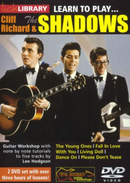 Lick Library: Learn to Play Cliff Richard and the Shadows (DVD)