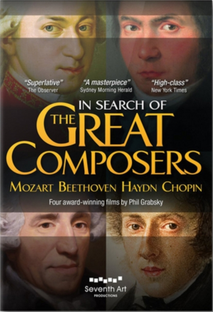 In Search of the Great Composers (Phil Grabsky) (DVD)