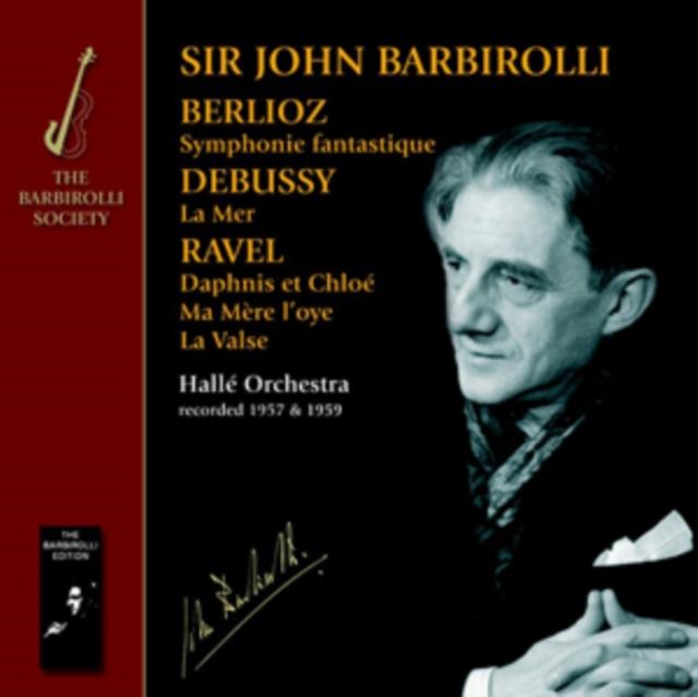 Berlioz/Debussy/Ravel: Symphonie Fantastique/La Mer... (CD / Album)