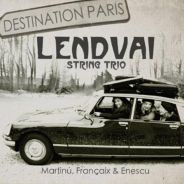 Destination Paris (CD / Album)