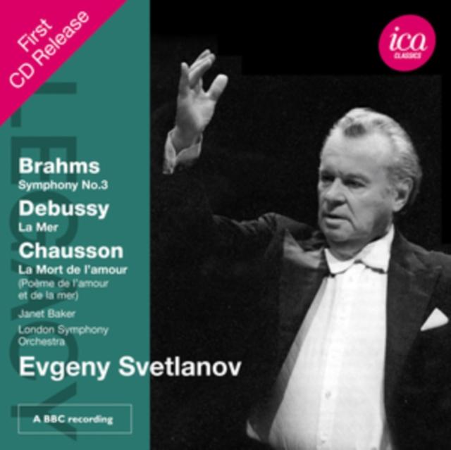 Brahms: Symphony No. 3/Debussy: La Mer/... (CD / Album)