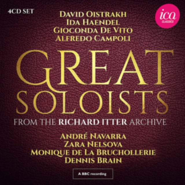 Great Soloists from the Richard Itter Archive (CD / Box Set)