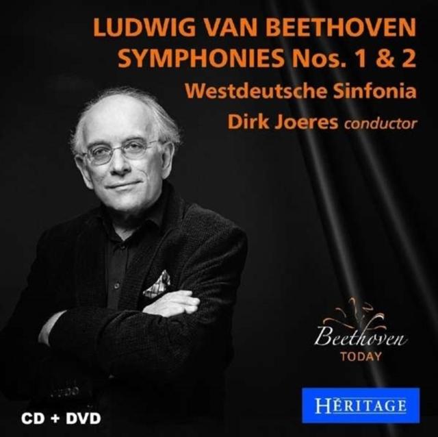 Ludwig Van Beethoven: Symphonies Nos. 1 & 2 (CD / Album with DVD)