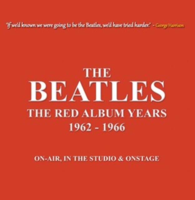 "The Red Album Years 1962-1966 (The Beatles) (Vinyl / 10"" Album (Coloured Vinyl))"