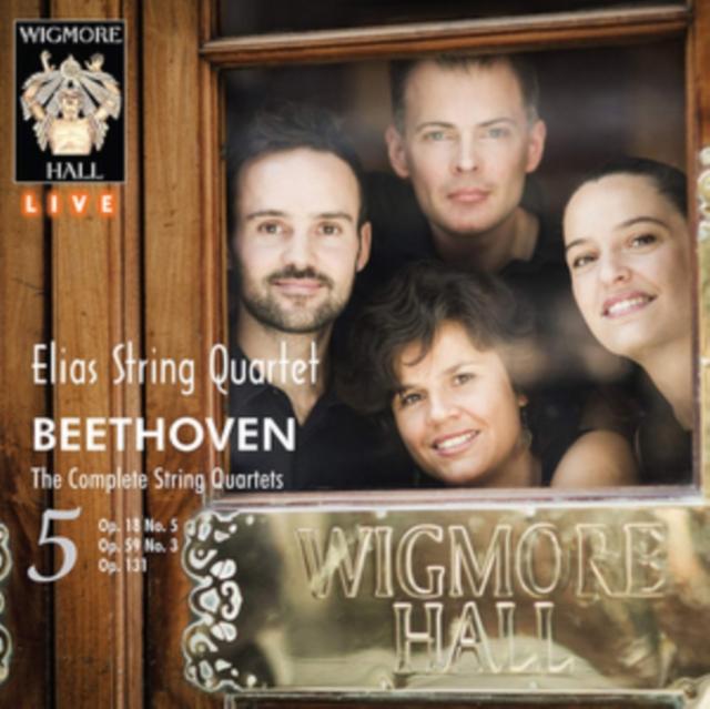 Beethoven: Complete String Quartets 5 (Elias String Quartet) (CD)
