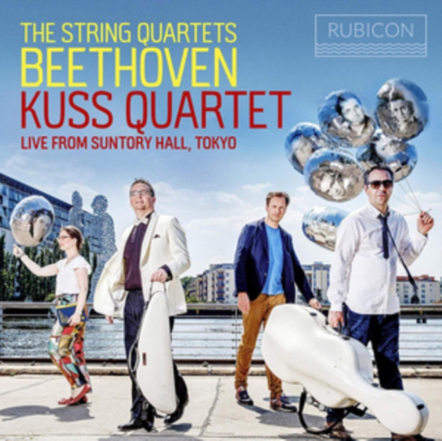 Beethoven: The String Quartets (CD / Box Set)