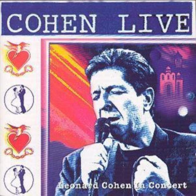 Live in Concert (Leonard Cohen) (CD / Album)
