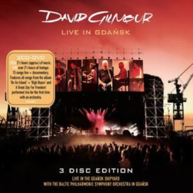 Live in Gdansk [2cd + Dvd] (David Gilmour) (CD / Album)