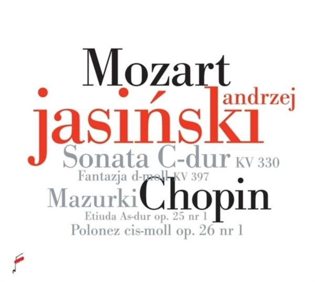 Mozart: Sonata C-dur, KV330/Fantazja D-moll, KV397 (CD / Album)