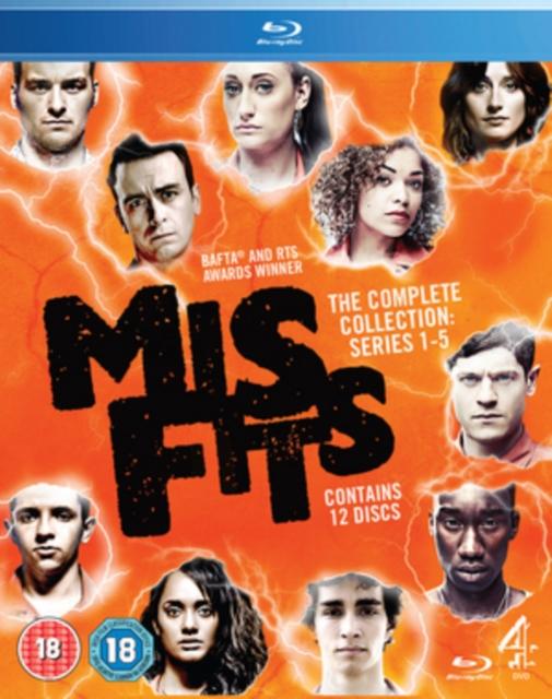 Misfits: Series 1-5 (Blu-ray / Box Set)