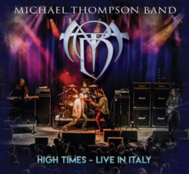 High Times - Live in Italy (Michael Thompson Band) (CD / Album with DVD)