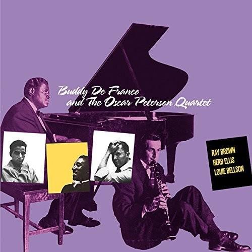 & the Oscar Peterson Quartet + 1 Bonus Track (Buddy De Franco) (CD)
