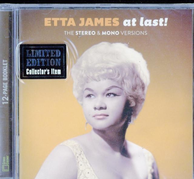 At Last: The Original Stereo & Mono Versions (Etta James) (CD)