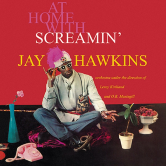 "At Home With (Screamin' Jay Hawkins) (Vinyl / 12"" Album)"