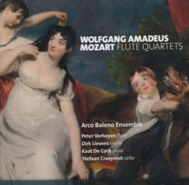 Wolfgang Amadeus Mozart: Flute Quartets (CD / Album)