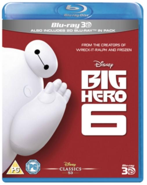 Big Hero 6 (Chris Williams;Don Hall;) (Blu-ray / 3D Edition with 2D Edition)
