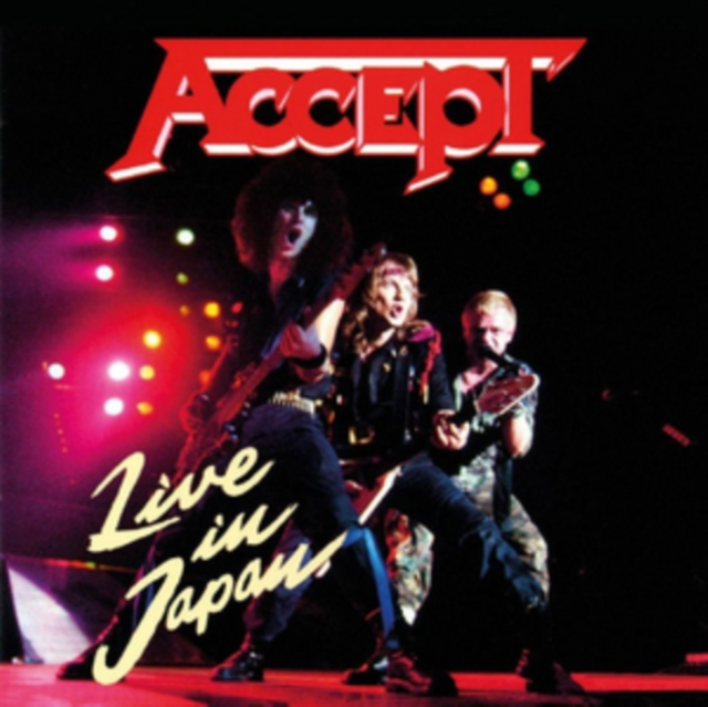 Live in Japan (Accept) (CD)