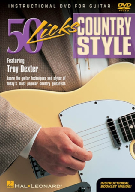 50 Licks: Country Style Guitar (DVD / with CD)